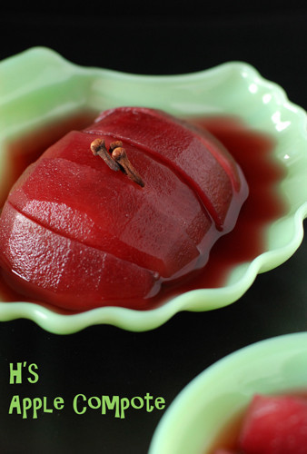 Apple Compote with Red Wine | Washoku.Guide
