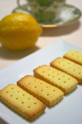 Lemon Cookies Made with Vegetable Oil