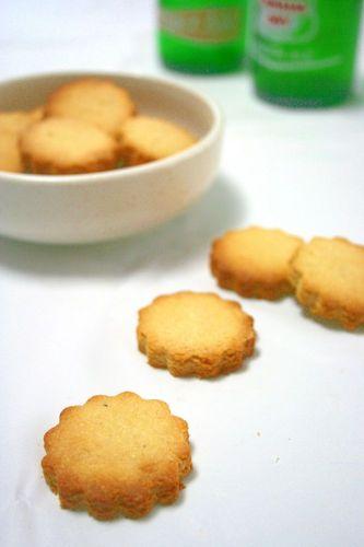 Okara Lemon Cookies Made with Vegetable Oil
