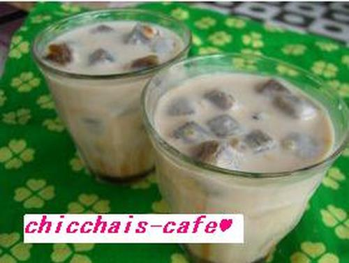 Summer Staple Cafe-style Iced Cafe au Lait