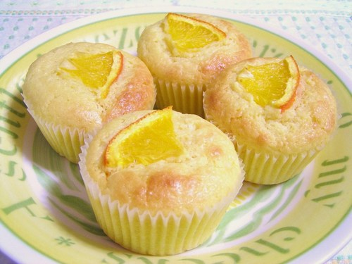 Refreshing Orange & Yoghurt Muffins