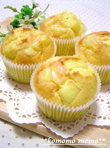 Chunky Cheese Muffins