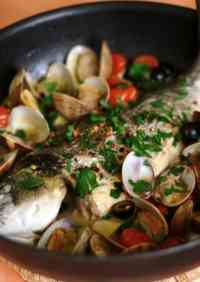 Deluxe Orata all'acqua Pazza (Poached Sea Bream)