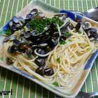 Shijimi Clam Pasta, alle Vongole Style