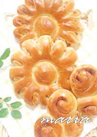 Flower Garden Cinnamon Roll