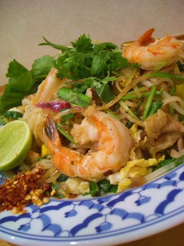 Pad Thai: Thai-style Stir fried Noodles