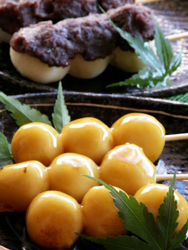 Moist and Chewy Mitarashi Dango with Tofu