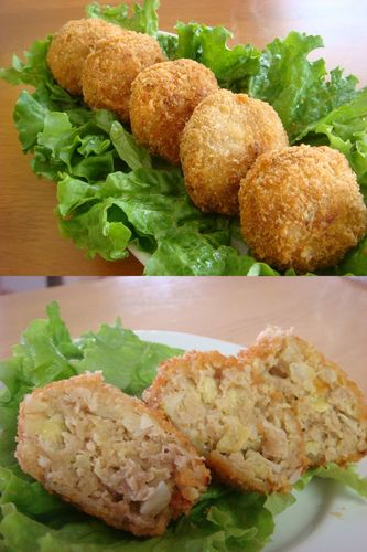 Ground Meat Cutlets with Lots of Cabbage