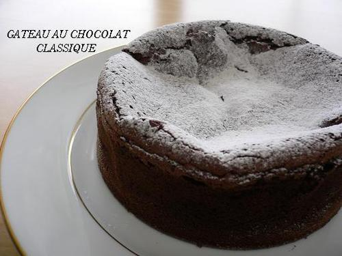 Light & Crumbly Gateau au Chocolat