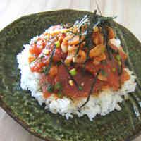 Tuna and Kimchi Don Rice Bowl