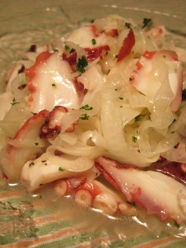 Easy Marinated Octopus and Onion