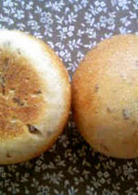 Waste-free Bread Rolls with Raisin Leaven