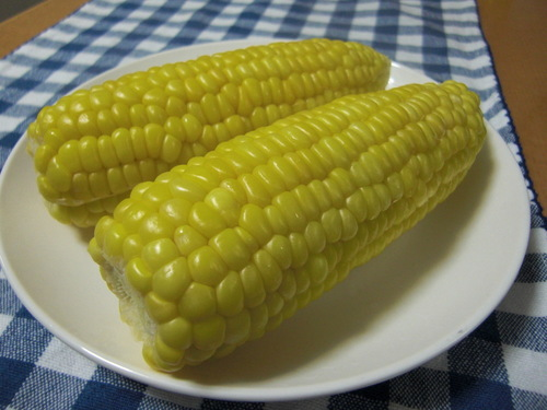 My Family's Microwaved Corn on the Cob