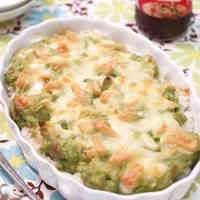 Speedy Avocado Rice Gratin (Doria)