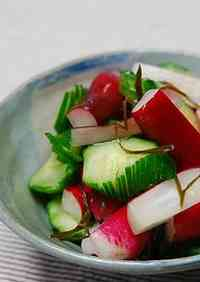 Pickled Radish and Cucumber