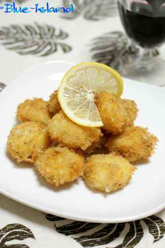 Delicious Fried Scallops with Mustard