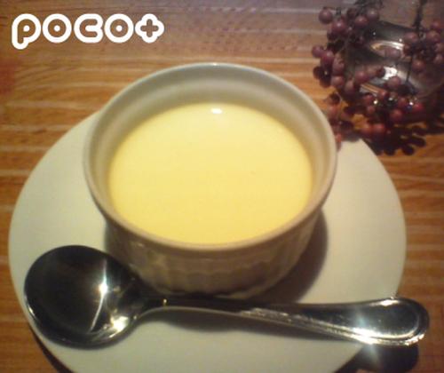 Loquat Pit 'Almond Tofu' Custard