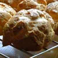 Cream Puff Batter (with Vegetable Oil)