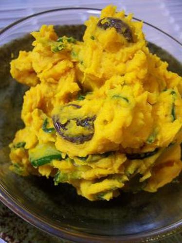 Super Tasty Kabocha Salad with Heavy Cream