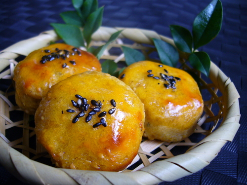 Japanese-style Sweetened Sweet Potatoes