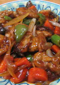 Not Deep Fried! Rich Sweet and Sour Pork