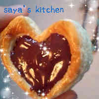 Heart-Shaped Chocolate Pies