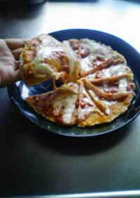 Chewy Okara Pizza