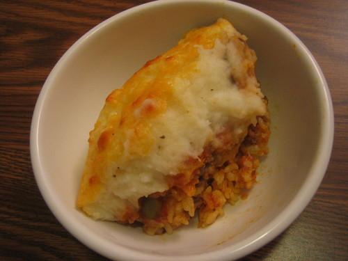 Rizzy's Doria-Style Shepherd's Pie