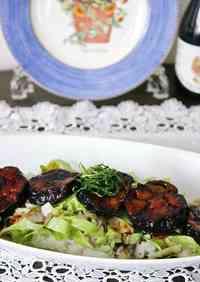 Eggplant Balsamic Rice