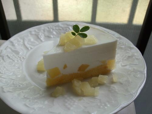No-Bake Cheesecake Style Yogurt Cake