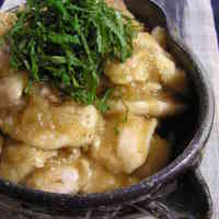 Light and Refreshing Chicken Breast Cooked In Grated Daikon Radish
