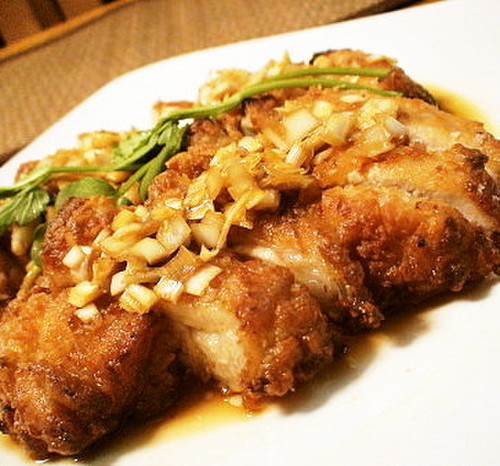 Tender & Juicy Yu Lin Chi (Chinese Deep-fried Chicken)