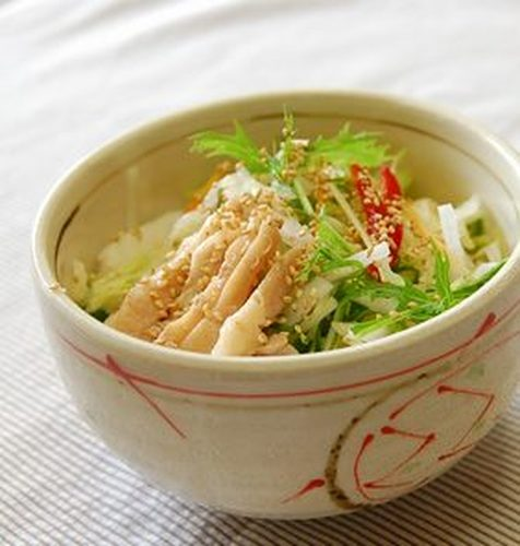Chicken Salad Ochazuke