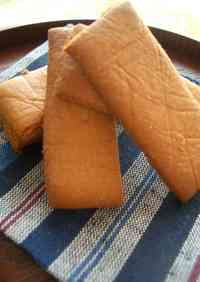 Simple and Oil-free Yatsuhashi Style Cookies with Rice Flour