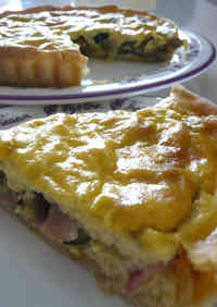 Easy But Healthy Quiche with Tofu for Dieters