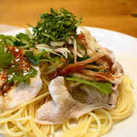 Chilled Pasta with Pork and Herbs