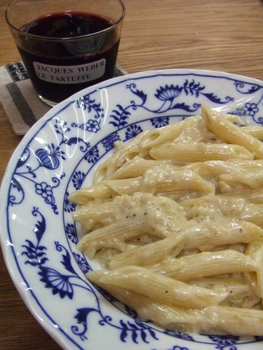 Penne Gorgonzola with Blue Cheese