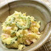 Easy Bitter Melon and Potato Salad