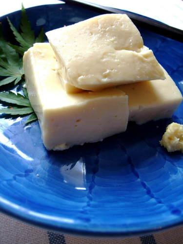 Homemade Chewy Kudzu Tofu