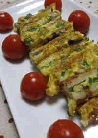 Mayonnaise Flavored Chikuwa Piccata