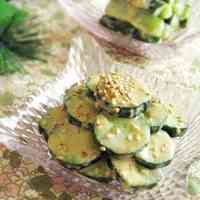 Cucumbers with Wasabi and Miso-Mayo