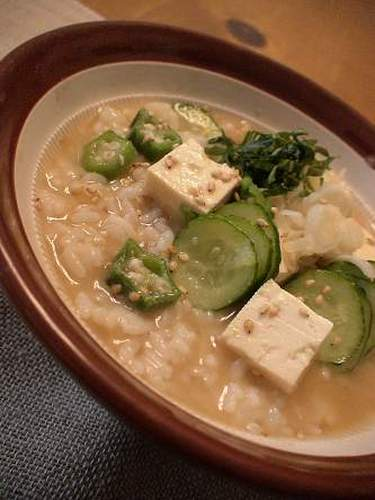 For Summer Fatigue Simple Cold Miso Soup
