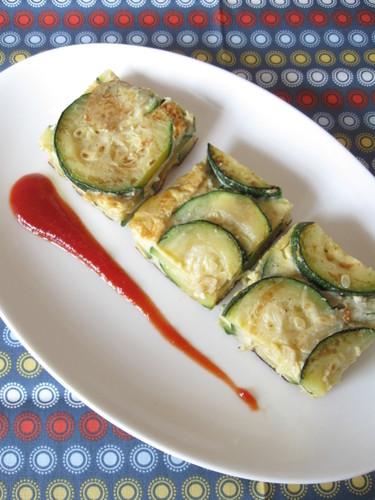[Spanish Recipe] Zucchini Omelette