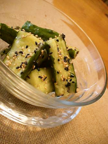 Cucumber Namul (Korean-style Salad)