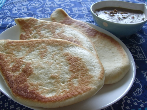 Cheese Naan Bread