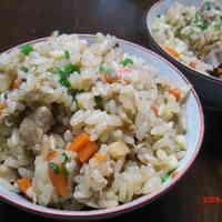 "Okinawan-Style Mixed Rice ""Kufua Juushii"""