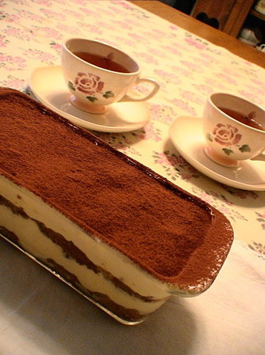 Tiramisu with Yogurt Cream Cheese