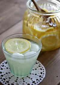 Lemonade with Homemade Lemon Syrup