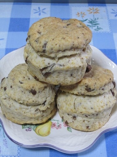 Easy with Vegetable Oil Crispy Scones