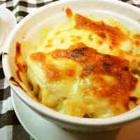 Gooey, Cheesy Macaroni au Gratin